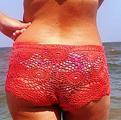 Одежда ручной работы. Ярмарка Мастеров - ручная работа Шорты короткие пляжные. Handmade.
