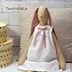 Игрушки животные, ручной работы. Зайка (70см) - текстильная игрушка. Textil-KUKLA  куклы и игрушки. Интернет-магазин Ярмарка Мастеров.