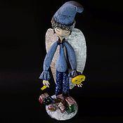 """Куклы и пупсы ручной работы. Ярмарка Мастеров - ручная работа Коллекционная кукла из папье-маше """"Рождественская звезда"""". Handmade."""
