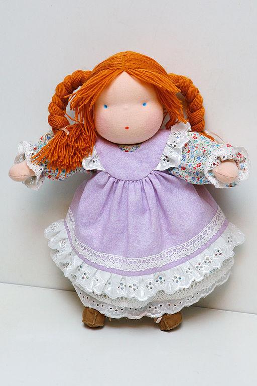 """Вальдорфская игрушка ручной работы. Ярмарка Мастеров - ручная работа. Купить Вальдорфская кукла """"Рыжик"""". Handmade. Вальдорфская кукла"""