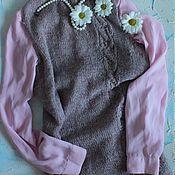 Одежда ручной работы. Ярмарка Мастеров - ручная работа Безрукавка из нежной альпаки. Handmade.