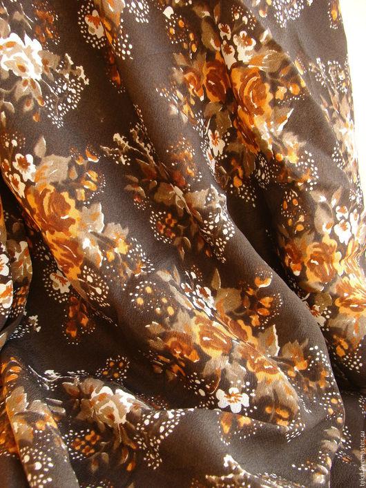 Шитье ручной работы. Ярмарка Мастеров - ручная работа. Купить 260 х 93 см. Ткань крепдешин, натуральный шелк.. Handmade.