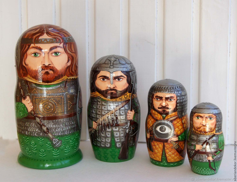 Matryoshka Russian heroes - 3, Dolls1, Tyumen,  Фото №1
