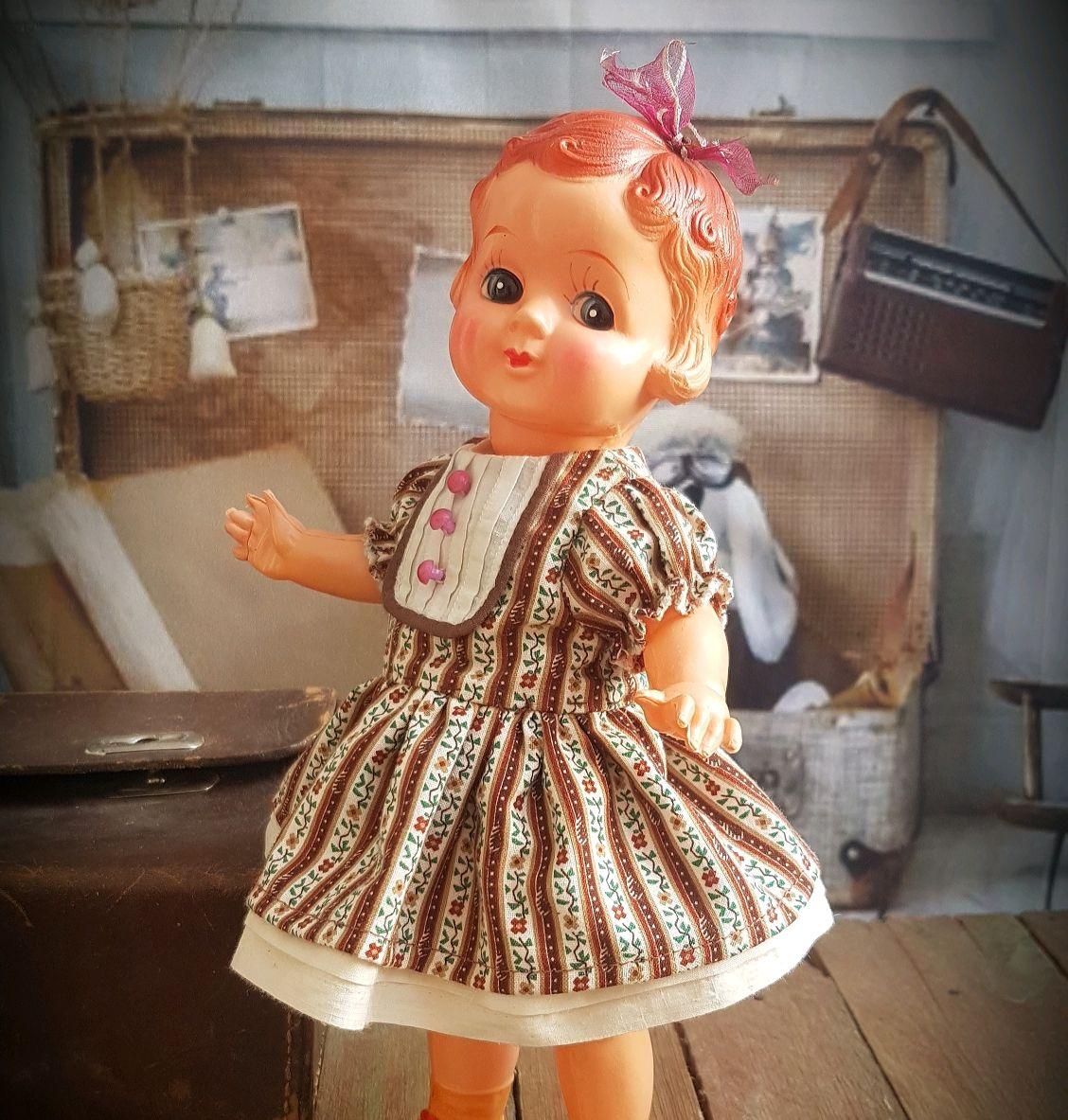 Винтаж: Антикварная целлулоидная кукла Женечка, Куклы винтажные, Уфа,  Фото №1