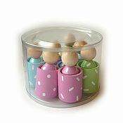 "Куклы и игрушки handmade. Livemaster - original item Сортер ""Человечки"" в упаковке. Handmade."