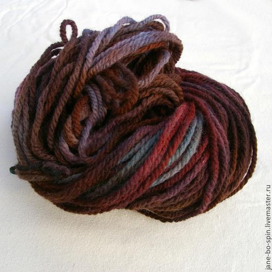 Вязание ручной работы. Ярмарка Мастеров - ручная работа. Купить Пряжа ручной окраски шерсть. Handmade. Пряжа для вязания