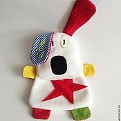 Куклы и игрушки ручной работы. Ярмарка Мастеров - ручная работа Комфортер Собачка Бо. Handmade.