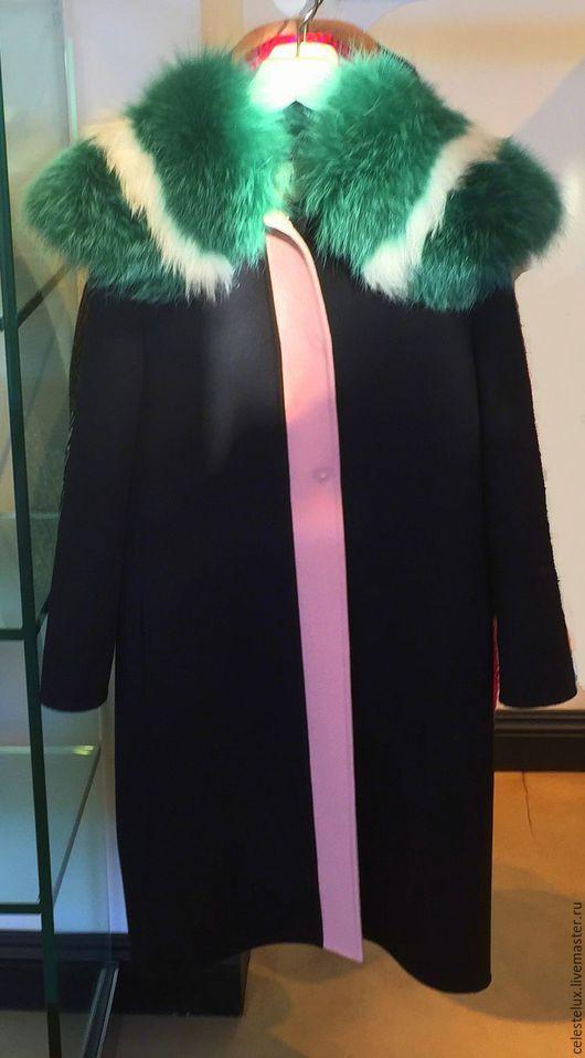 Верхняя одежда ручной работы. Ярмарка Мастеров - ручная работа. Купить Пальто из кашемира. Handmade. Пальто, купить, москва, каталог