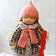 Вальдорфская игрушка ручной работы. Асенька, 42 см. svetlana. Ярмарка Мастеров. Натуральные материалы, кукла интерьерная, игрушка для детей