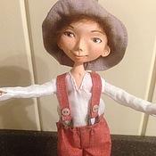 Куклы и игрушки ручной работы. Ярмарка Мастеров - ручная работа Кукла интерьерная - мальчишка. Handmade.