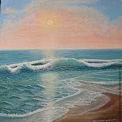 """Картины и панно ручной работы. Ярмарка Мастеров - ручная работа Картина """"Волна"""". Handmade."""