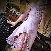 """Одежда ручной работы. Ярмарка Мастеров - ручная работа валяное платье ручной работы """"Vintage"""". Handmade."""