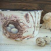 """Для дома и интерьера ручной работы. Ярмарка Мастеров - ручная работа миска  """" Гнездышко"""". Handmade."""