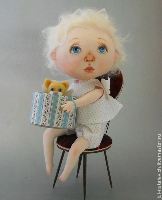 Куклы и игрушки ручной работы. Ярмарка Мастеров - ручная работа. Купить Выкройка куклы. Handmade. Белый, текстильная кукла