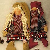 Куклы и игрушки ручной работы. Ярмарка Мастеров - ручная работа Гномы Тёплые сказки о зиме.... Handmade.