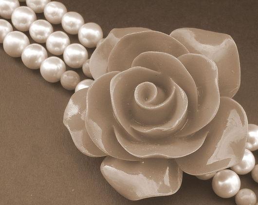 """Браслеты ручной работы. Ярмарка Мастеров - ручная работа. Купить """"Rosa"""", браслет, натуральный жемчуг. Handmade. Браслет, натуральный жемчуг"""