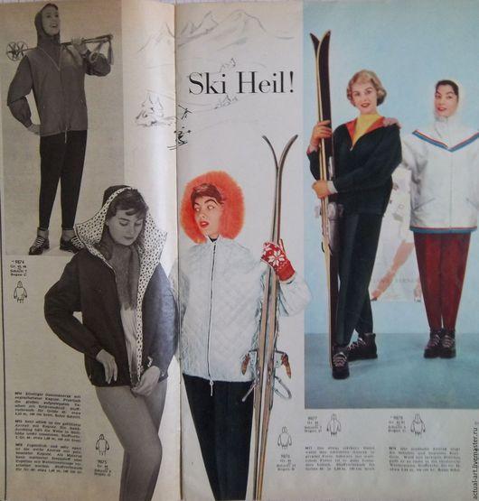 Шитье ручной работы. Ярмарка Мастеров - ручная работа. Купить Выкройки из журналов 50-60-х годов. Handmade. Выкройки