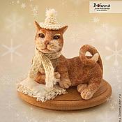 Куклы и игрушки ручной работы. Ярмарка Мастеров - ручная работа Кузя нежный-снежный. Handmade.