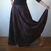 Одежда ручной работы. Ярмарка Мастеров - ручная работа Юбка Шотландка. Handmade.
