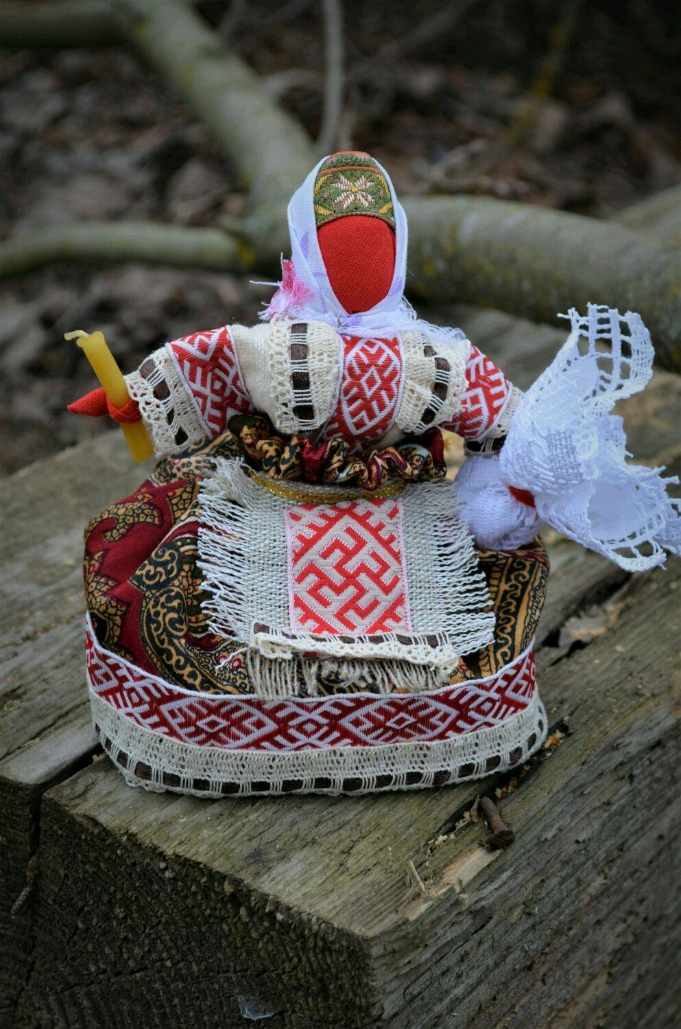 ПАСХА - славянская берегиня, Народная кукла, Калуга,  Фото №1