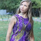 Одежда ручной работы. Ярмарка Мастеров - ручная работа Туника «Deep Purple». Handmade.