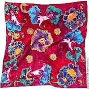 Аксессуары handmade. Livemaster - original item Batik scarf