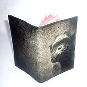 Канцелярские товары handmade. Livemaster - original item Passport cover, cover (leather)
