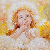 Картины и панно handmade. Livemaster - original item Sunny dandelion. Handmade.