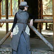 "Одежда ручной работы. Ярмарка Мастеров - ручная работа пальто "" Vieille-Nouvelle"". Handmade."