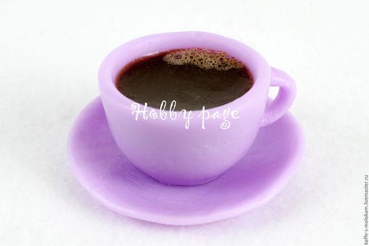Материалы для косметики ручной работы. Ярмарка Мастеров - ручная работа. Купить Силиконовая форма для мыла Чашка с блюдцем мини. Handmade.