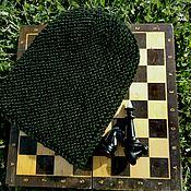 Аксессуары ручной работы. Ярмарка Мастеров - ручная работа Шапка-бини вязаная. Handmade.