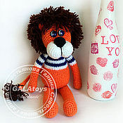 Куклы и игрушки handmade. Livemaster - original item Lion. Knitted toy.. Handmade.