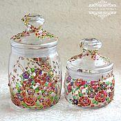 Для дома и интерьера handmade. Livemaster - original item Jars