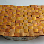 Дача и сад handmade. Livemaster - original item Mat-a Mat made of birch bark