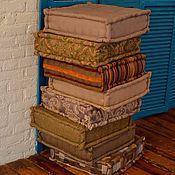Для дома и интерьера ручной работы. Ярмарка Мастеров - ручная работа Пуф на заказ (мягкая мебель) 90 на 90 см.. Handmade.