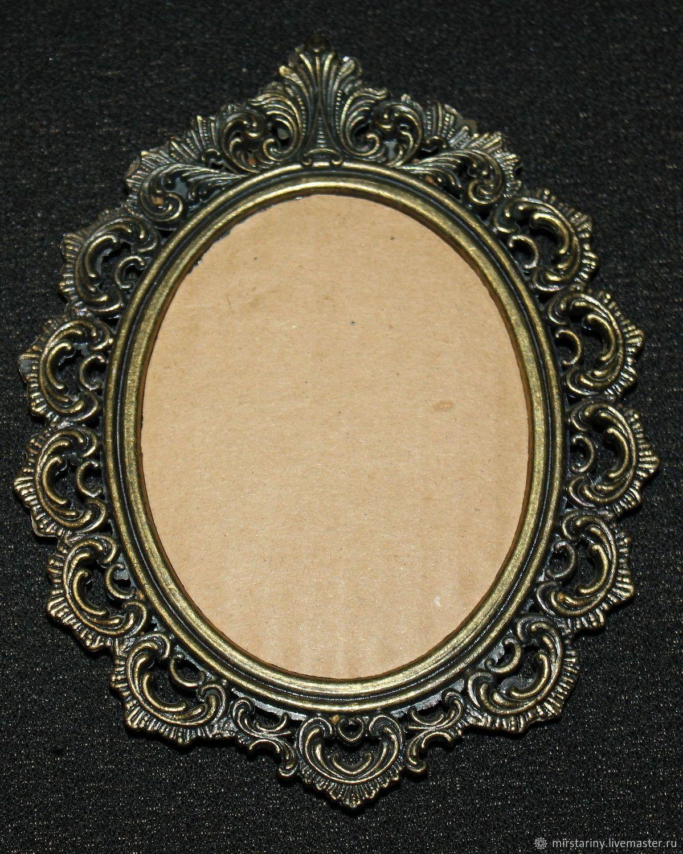 Шелковые картинки в бронзовых рамках