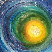 """Картины и панно ручной работы. Ярмарка Мастеров - ручная работа Картина """"Круги жизни"""". Handmade."""