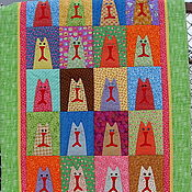 Для дома и интерьера handmade. Livemaster - original item Baby blanket   Cat Cuties.... Handmade.