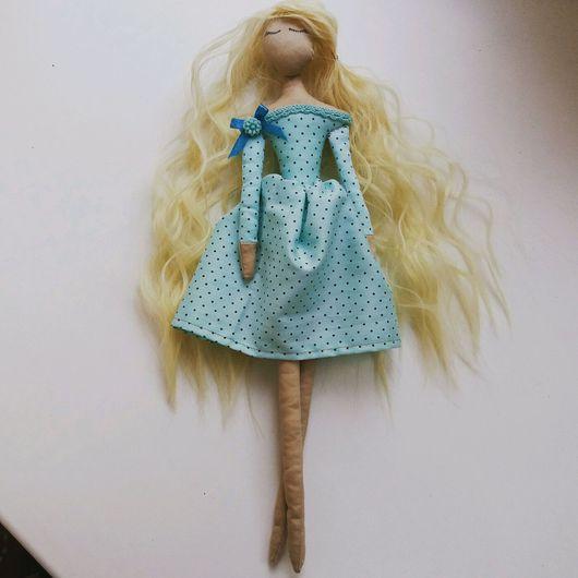 """Куклы Тильды ручной работы. Ярмарка Мастеров - ручная работа. Купить Кукла """"Спящая красавица"""". Handmade. Тильда, день рождения"""