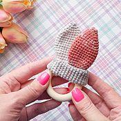 Куклы и игрушки handmade. Livemaster - original item Teething toy knitted Ears. Handmade.