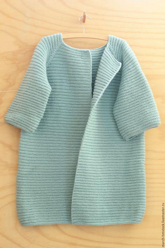 Кофты и свитера ручной работы. Ярмарка Мастеров - ручная работа. Купить Кардиган. Handmade. Мятный, кардиган ручной работы
