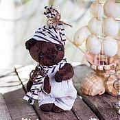 Куклы и игрушки ручной работы. Ярмарка Мастеров - ручная работа Мишка Тедди Морячок Анри. Handmade.