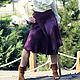 """Юбки ручной работы. Ярмарка Мастеров - ручная работа. Купить Валяная юбка """"Влюбленная в Аметист"""". Handmade. Юбка, шерстяная юбка"""
