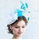 """Шляпы ручной работы. Ярмарка Мастеров - ручная работа. Купить Шляпка """"Shyness"""" (""""Застенчивость""""). Handmade. Однотонный, дамская шляпка"""