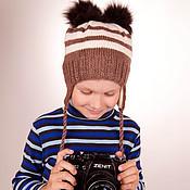 Работы для детей, ручной работы. Ярмарка Мастеров - ручная работа Шапочка для мальчика. Handmade.