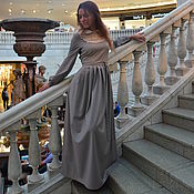 Одежда ручной работы. Ярмарка Мастеров - ручная работа Платье в пол,длинное платье.. Handmade.