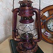 Для дома и интерьера ручной работы. Ярмарка Мастеров - ручная работа Керосиновая лампа. Handmade.
