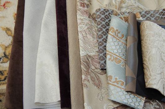 Шитье ручной работы. Ярмарка Мастеров - ручная работа. Купить № 8.56 Лоскуты мебельной ткани. Ассорти большое.. Handmade.
