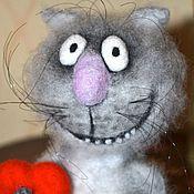 """Куклы и игрушки ручной работы. Ярмарка Мастеров - ручная работа Кот """"С любовью...."""". Handmade."""