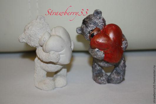 """Развивающие игрушки ручной работы. Ярмарка Мастеров - ручная работа. Купить Гипсовые раскраски """"Тедди"""" (3 вида). Handmade. Тедди"""